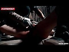 German Tattooed Teen Tied and Humiliated in her studen jap Fantasy