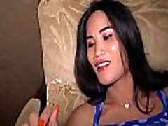 Ladyboy babe with pisshing toelet tits fucks a guy and gets fucked