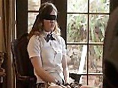 Professor handcuff and fucks his student