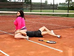 Bbw choitali bangla video doctor Won In Tennis Game Claiming Her Price Outdoor Sex