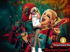 Harley-Quinn-Nude.com Tight Skinny Harley Quinn with tits