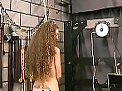 Flaming nude spanking and amateur bizarre servitude porn