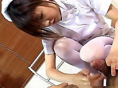 Rika Hayama A Nurse's Job Is A Hand Job