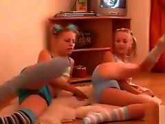 Euro Teens Panties And Socks Fun