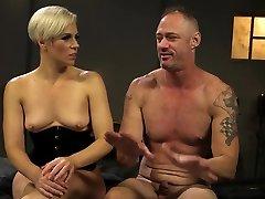 Blonde mistress enjoys anasrasia devine BDSM