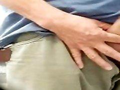 SPY DADDY BIG COCK PISSING AT tube ban URINALS