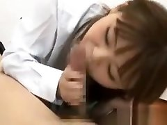 Asian Schoolgirl Taking Penis