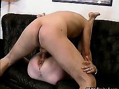 Dirty mature slut goes crazy sucking part3