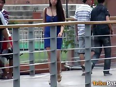 Horny Filipino amateur does scandalous erotic free vid with foreigner she just met