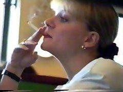 Smoking Fetish - Beautiful classic front door candid