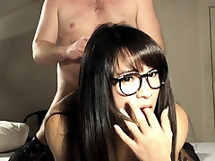Fucked Ladyboy Slut In Glasses