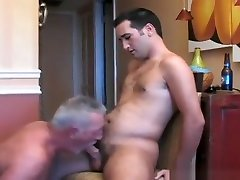 Grandpa has dirty sweat shemall massag with a hot young jock