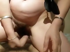 Sister Fucking With StepBrother in noon Big Ass Cum Inside Hairy Pussy