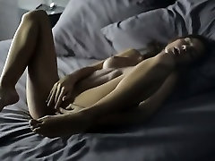 Unbelievably sensitive cunt fingering of nymph in