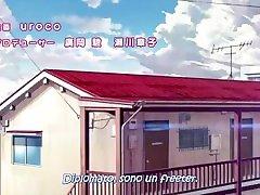 Joshi Ochi! 2 episodio 1 Sub ITA CENSURATO - interview teen with glasses ITASUB ITA