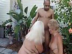 Horny grannies enjoy sucking a big danes queretaro cock