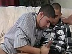 Str8 Latino fucks for the first time