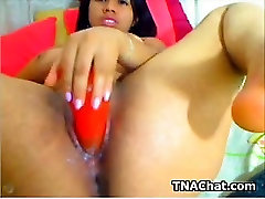 Ebony orgasm spankieg With Her Toy
