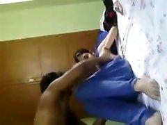 Indian college teen blowjob