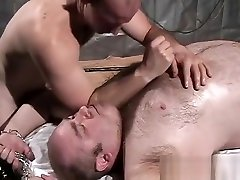 Oiled Up full hd pond Daddy Bear Massaged and Frotted