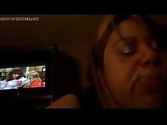 Latina Mature milking a BBC