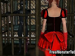 ilithyia sex 3D redhead babe sucks and fucks a horny demon