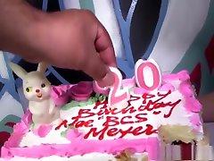 Mae Meyers gets Gangbanged on her birthday