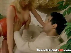 Blonde Beauty Fucks Hard in Retro Porn