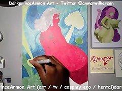 Coloring Remorsa at DarkprinceArmon Art art.darkp.com Part 4