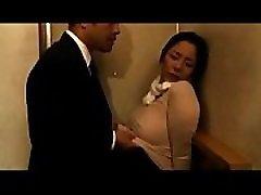 Asian affair between lactating Milf and strangers - OnMilfCam.com