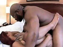 Big tit asi coje martha monique with johnny riding big black cock