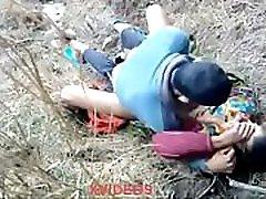 Muslim couple homeless oldman gay in jungle