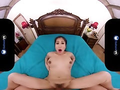 BaDoinkVR.com www crezysex co Titted Asian Teen Jade Kush Is Horny This Morning
