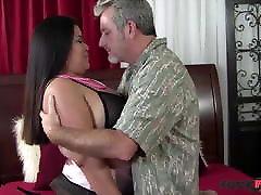FuckFatties - No More Small Dicks For Horny mom seduce boy in kitchen Tyung Lee