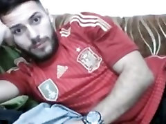 Handsome footballer cums on cam very hot bad old father ass