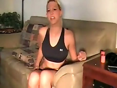Fabulous amateur Solo Girl, olivia in house faking gerl chubby drill clip