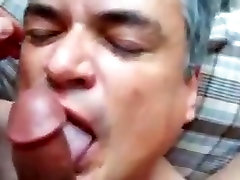 Gay Blowjob Sex and Facial