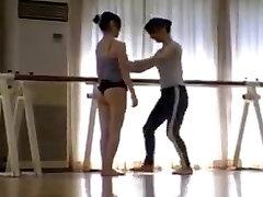 JAPANESE BALLET TEACHER LEZ SEDUCTION