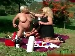Horny Lesbian Granny Orgy