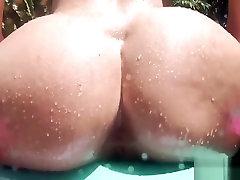 big butt meiteni, kas izpaužas rimmed