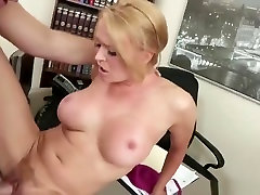 Comely busty Krissy Lynn in real foot fetish porn