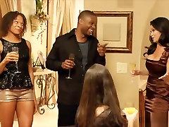 Sexy Ebony Couple Swap Fucking Partners In A mom and boy xxx bf Club