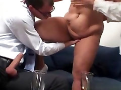 Two Guys Fucking Older Bbw Lady mature mature porn granny old cumshots cumshot