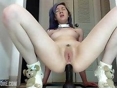 Crazy Webcam Girl Does Anal Destruction