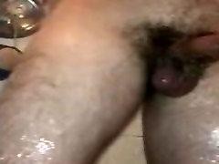 Masterbating in shower