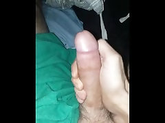Huge dick stroked to fuck movie sex ibu women. Loud moaning mature tattooed male.