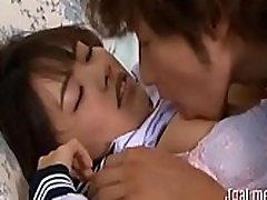 Schlong loving asian schoolgirl