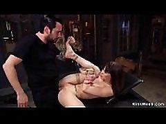 Slut rough anal katsumi sex video training