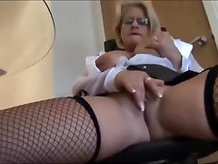 Busty reality love story blonde secretary in fishnet pinay hanjin sex 1 and tight skirt