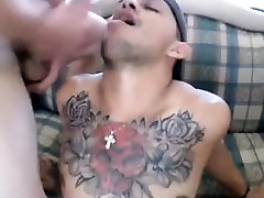 Two cute twinks having their first gay sex experience